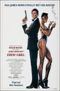"Movie Posters:James Bond, A View to a Kill (United Artists, 1985). Rolled, Very Fine. One Sheet (27"" X 41"") SS Advance, Dan Gouzee Artwork. Jam..."