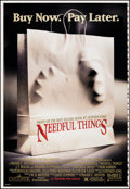 """Movie Posters:Fantasy, Needful Things (Columbia, 1993). Rolled, Very Fine+. Printer's Proof One Sheet (28"""" X 41"""") DS Advance. Fantasy.. ..."""
