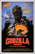 "Movie Posters:Science Fiction, Godzilla 1985 (New World, 1985). Rolled, Very Fine+. One Sheet (27"" X 41"") SS. Science Fiction.. ..."
