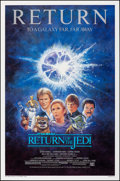 "Movie Posters:Science Fiction, Return of the Jedi (20th Century Fox, R-1985). Rolled, Near Mint. One Sheet (27"" X 41"") SS, Tom Jung Artwork. Science..."