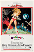 """Movie Posters:Science Fiction, Barbarella (Paramount, 1968). Folded, Very Fine. One Sheet (27"""" X 41""""). Robert McGinnis Artwork. Science Fiction.. ..."""