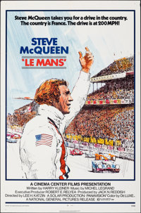 "Le Mans (National General, 1971). Folded, Fine/Very Fine. One Sheet (27"" X 41""). Sports"
