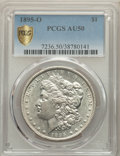 1895-O $1 AU50 PCGS. PCGS Population: (778/2027 and 0/25+). NGC Census: (440/2010 and 0/10+). CDN: $800 Whsle. Bid for p...