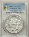 1893-CC $1 -- Cleaning -- PCGS Genuine. AU Details. NGC Census: (77/1879 and 0/40+). PCGS Population: (138/3976 and 0/10...