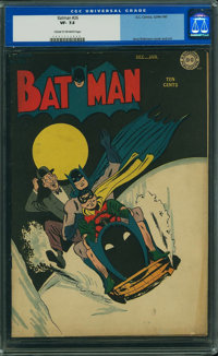 Batman #26 (DC, 1945) CGC VF- 7.5 Cream to off-white pages
