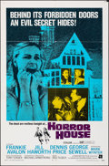 """Movie Posters:Horror, Horror House & Other Lot (American International, 1970). Folded, Fine/Very Fine. One Sheets (2) (27"""" X 41""""). Horror.. ... (Total: 2 Items)"""