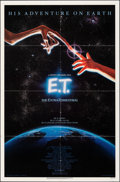 """Movie Posters:Science Fiction, E.T. The Extra-Terrestrial (Universal, 1982). Folded, Very Fine-. One Sheet (27"""" X 41""""). John Alvin Artwork. Science Fiction..."""