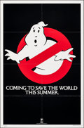 "Movie Posters:Comedy, Ghostbusters (Columbia, 1984). Folded, Very Fine. One Sheet (27"" X 41""). Comedy.. ..."