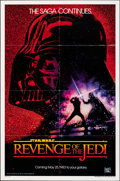 "Movie Posters:Science Fiction, Revenge of the Jedi (20th Century Fox, 1982). Folded, Very Fine. One Sheet (27"" X 41"") Dated Advance Style. Drew Stru..."