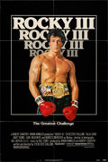 "Movie Posters:Sports, Rocky III (United Artists, 1982). Folded, Very Fine-. One Sheet (27"" X 41""). Sports.. ..."