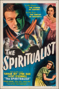 "Movie Posters:Fantasy, The Spiritualist (Eagle Lion, 1948). Folded, Very Fine. One Sheet (27"" X 41""). Fantasy.. ..."