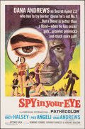 "Movie Posters:Adventure, Spy in Your Eye & Other Lot (American International, 1966). Folded, Very Fine. One Sheets (2) (27"" X 41""). Adventure.. ... (Total: 2 Items)"