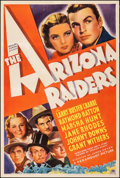 """Movie Posters:Western, The Arizona Raiders (Paramount, 1936). Very Good on Linen. One Sheet (27"""" X 41""""). Western.. ..."""