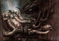 "Movie Posters:Science Fiction, Alien by H. R. Giger (20th Century Fox, 1979). Rolled, Very Fine-. Signed and Hand Numbered Limited Edition Print (39.5"" X 2..."
