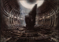 Alien by H. R. Giger (20th Century Fox, 1979). Rolled, Very Fine-. Signed and Hand Numbered Limited Edition Print (39.5&...