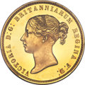 """Great Britain, Great Britain: Victoria gold Proof """"Una and the Lion"""" 5 Pounds 1839 PR64 Deep Cameo PCGS,..."""