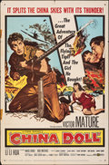 Movie Posters:War, China Doll (United Artists, 1958). Folded, Fine+. ...