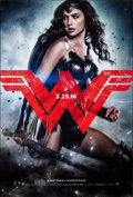 """Movie Posters:Action, Batman V Superman: Dawn of Justice (Warner Bros., 2016). Rolled, Very Fine+. One Sheets (3) (27"""" X 40"""") DS, Advance, Three S... (Total: 3 Items)"""