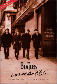 "The Beatles: Live at the BBC (Capitol Records, 1994). Rolled, Very Fine. British Album Poster (20"" X 30""). Roc..."