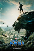 """Movie Posters:Action, Black Panther (Walt Disney Studios, 2018). Rolled, Very Fine-. International One Sheet (27"""" X 40"""") DS Advance. Action.. ..."""
