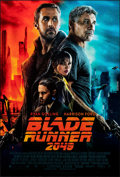 """Movie Posters:Science Fiction, Blade Runner 2049 (Warner Bros., 2017). Rolled, Very Fine+. International One Sheet (27"""" X 40"""") DS Advance. Science Fiction...."""