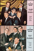 Movie Posters:Rock and Roll, Gerry and the Pacemakers - A Reveille Special & Other Lot (Reveille, c.1960s). Folded, Very Fine. Full Bleed British Posters... (Total: 2 Items)