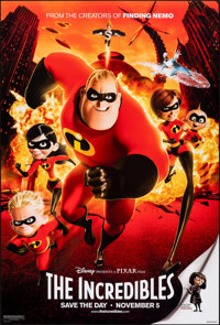 """The Incredibles & Other Lot (Buena Vista, 2004). Rolled, Very Fine/Near Mint. One Sheets (2) (27"""" X 40"""") D..."""