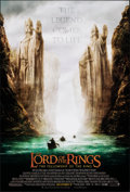 """Movie Posters:Fantasy, The Lord of the Rings: The Fellowship of the Ring (New Line, 2001). Rolled, Very Fine/Near Mint. One Sheet (27"""" X 40"""") SS Ad..."""