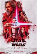 "Movie Posters:Science Fiction, Star Wars: The Last Jedi (Walt Disney Studios, 2017). Rolled, Very Fine/Near Mint. International One Sheet (27"" X 40"") DS, A..."