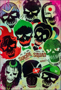 """Movie Posters:Action, Suicide Squad (Warner Bros., 2016). Rolled, Near Mint. One Sheets (2) (27"""" X 40"""") DS, Advance, Two Styles. Action."""