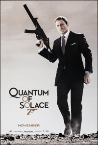 """Quantum of Solace (MGM, 2008). Rolled, Very Fine+. One Sheets (10) Identical (26.75"""" X 39.75"""") SS Advance. Jam..."""