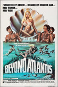 "Movie Posters:Fantasy, Beyond Atlantis (Dimension, 1973). Folded, Fine-. One Sheet (27"" X 41""). Fantasy.. ..."