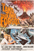 """Memorabilia:Movie-Related, The Land That Time Forgot (Lion International, 1975) British Double Crown (20"""" x 30"""")...."""