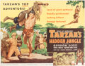 Memorabilia:Movie-Related, Gordon Scott in Tarzan's Hidden Jungle and Tarzan's Greatest Adventure (Style B)Trimmed and Untrimmed ... (Total: 2 Items)