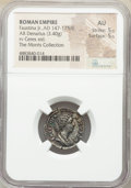 Ancients:Roman Imperial, Faustina Junior (AD 147-175/6). AR denarius (18mm, 3.40 gm...