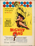 "Movie Posters:Crime, Mickey One (Columbia, 1965). Rolled, Fine/Very Fine. Poster (30"" X 40""). Crime.. ..."