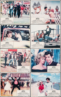 """Grease (Paramount, 1978). Fine. Lobby Card Set of 8 (11"""" X 14""""). Musical"""