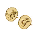 Estate Jewelry:Cufflinks, Gold Cuff Links, Jean Mahie. ...