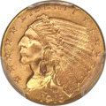 Indian Quarter Eagles, 1913 $2 1/2 MS66 PCGS....