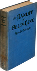 Books:First Editions, Edgar Rice Burroughs. The Bandit of Hell's Bend. Chicago: A. C. McClurg & Co., 1925. First edition....