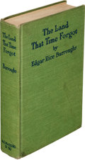Books:First Editions, Edgar Rice Burroughs. The Land That Time Forgot. Chicago: A. C. McClurg & Co., 1924. First edition....