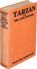 Books:First Editions, Edgar Rice Burroughs. Tarzan and the Lost Empire. New York: Metropolitan Books, [1929]. First edition....