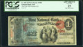 National Bank Notes:Kansas, Parsons, KS - $1 1875 Fr. 383 The First National Bank Ch. # 1951 PCGS Apparent Very Fine 25.. ...