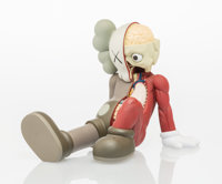 KAWS (b. 1974) Resting Place Companion, 2012 Painted cast vinyl 8-1/2 x 9 x 11-1/2 inches (21.6 x