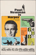 "Movie Posters:Crime, Harper & Other Lot (Warner Bros., 1966). Folded, Fine/Very Fine. One Sheets (2) (27"" X 41""). Crime.. ... (Total: 2 Items)"