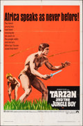 "Movie Posters:Adventure, Tarzan and the Jungle Boy & Other Lot (Paramount, 1968). Folded, Overall: Fine+. One Sheets (2) (27"" X 41""). Adventure.. ... (Total: 2 Items)"