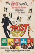 """Movie Posters:Rock and Roll, Twist Around the Clock (Columbia, 1961). Folded, Fine. One Sheet (27"""" X 41""""). Rock and Roll.. ..."""