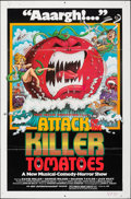 "Movie Posters:Comedy, Attack of the Killer Tomatoes (Northern Arts Entertainment, 1978). Folded, Fine/Very Fine. One Sheet (27"" X 41""). David Weis..."