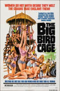 "Movie Posters:Sexploitation, The Big Bird Cage (New World, 1972). Folded, Very Fine. Autographed One Sheet (27"" X 41""). Joseph Smith Artwork. Sexploitati..."