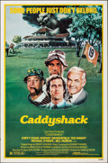 """Movie Posters:Comedy, Caddyshack (Orion, 1980). Folded, Fine/Very Fine. One Sheet (27"""" X 41""""). Comedy.. ..."""